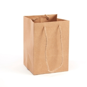 Handtied Natural Porto Bag (Large) 25x25x18cm
